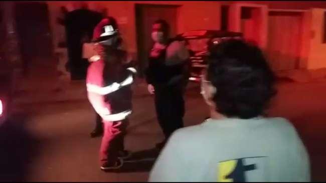 Lanzan bomba molotov a local de podología en barrio Partido Alto de Tarapoto