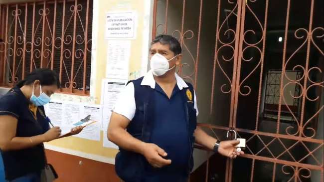 Fiscalía anticorrupción de Mariscal Cáceres  intervine Municipalidad Distrital de Piscoyacu.  Alcalde Nelo Pérez Fernández con paradero desconocido