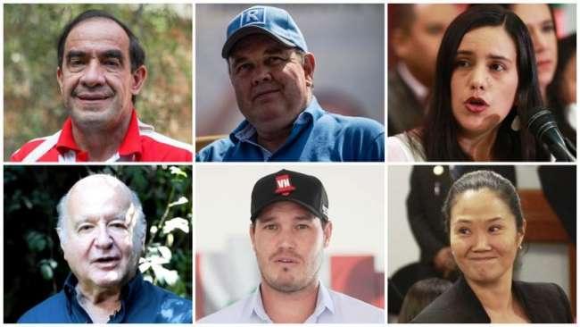 Lescano continúa primero y Mendoza  empata a López Aliaga
