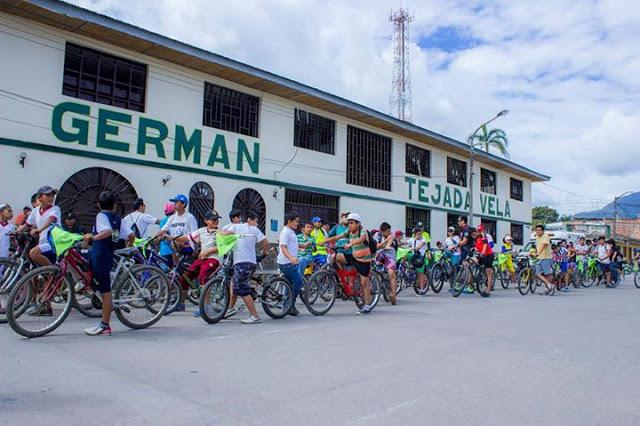 Colectivo de ciclistas de Moyobamba  exigen ejecución de los 12 km del  proyecto de Ciclovía Urbana