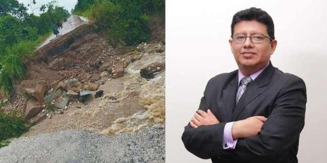 DIVAN DEL PUMA: Prevención de desastres naturales, acción nula de las autoridades de turno