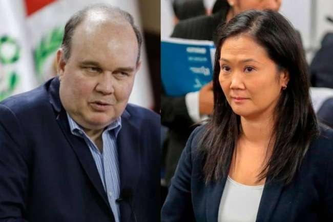 Keiko Fujimori: Rafael López Aliaga no tiene control emocional