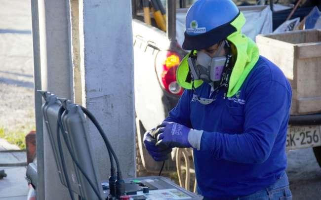 Electro Oriente realiza reforzamiento de red de media tensión para atender requerimiento de energía eléctrica para instalación de Planta de Oxígeno en Bellavista