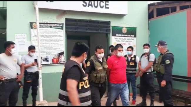 Dictan prisión preventiva a sujetos  intervenidos por asalto en el distrito de Sauce