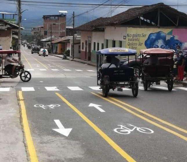 Instalación de ciclovía en el barrio Huayco de Tarapoto genera controversia