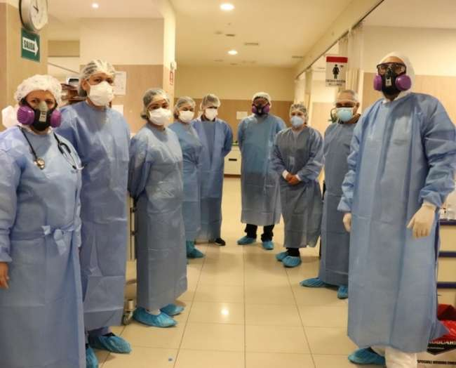 Médicos del hospital de Ate Vitarte capacitarán a especialistas UCI del hospital de Tarapoto