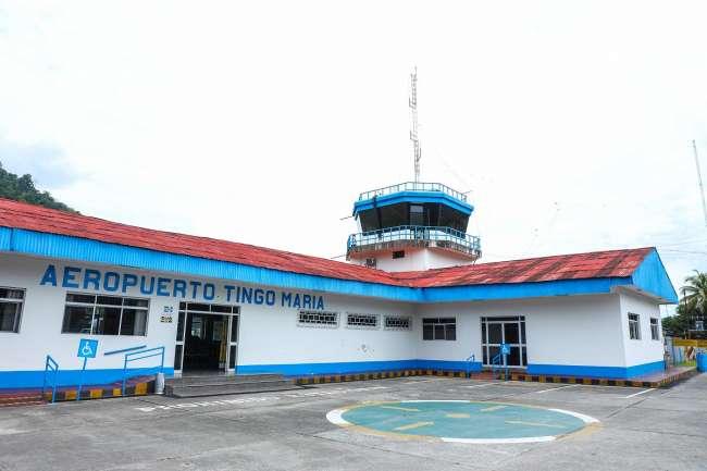 Licitarán estudio para determinar nueva ubicación del Aeropuerto de Tingo María