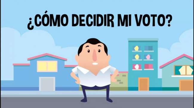 ¿Cómo decidir mi voto?