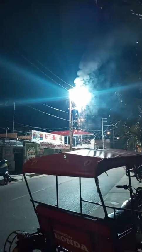 Avance sobre interrupción del Servicio Eléctrico en Tarapoto
