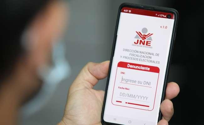 JNE presenta aplicativo para denuncias de electores peruanos en el extranjero