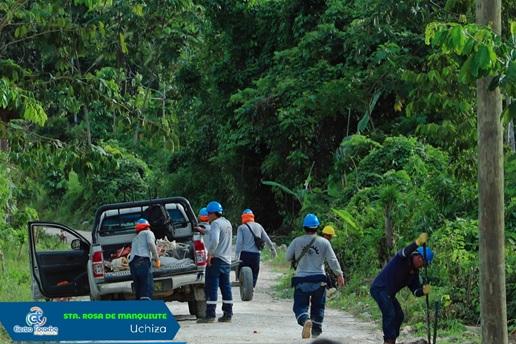 Electro Tocache amplía sus servicios a pobladores del campo