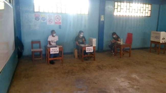 Fiscalía descartó presunta suplantación de votante en distrito de La Banda de Shilcayo