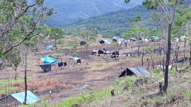 Más de 300 familias invaden terreno rural en La Banda de Shilcayo