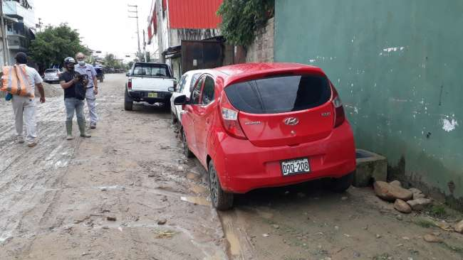 Vehículo que supuestamente fue donado a Municipalidad de Sacanche es ubicado en Tarapoto