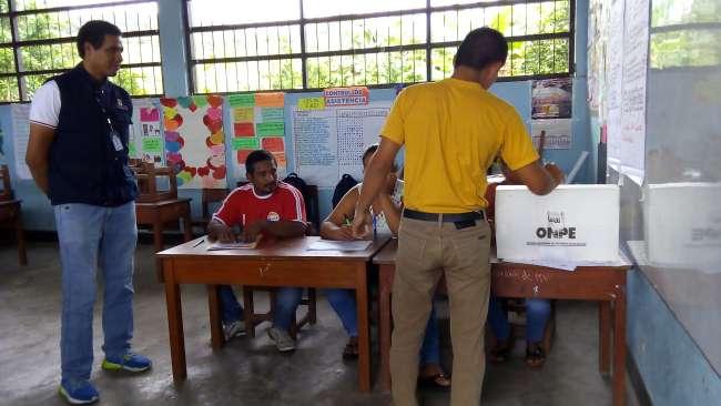 ONPE facilitará el voto a más de 700 mil electores en estado de pobreza y pobreza extrema