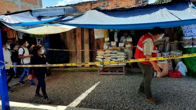 Rioja: Fiscalía verificó uso de protectores faciales, mascarillas y otras medidas sanitarias contra el covid -19 en mercados locales