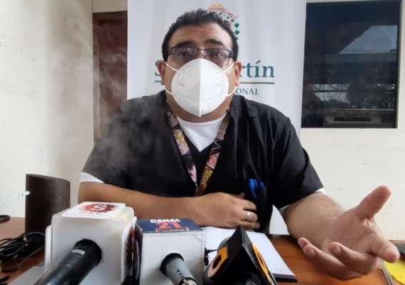 Entrevista con el médico Julio Alcántara Rengifo director de la Unidad Ejecutora 401 de Moyobamba y Rioja.
