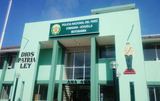 Algo está pasando en la comisaría de la mujer en Moyobamba.