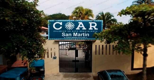 Son 100 nuevos escolares que ingresan al Colegio de Alto Rendimiento de San Martín.