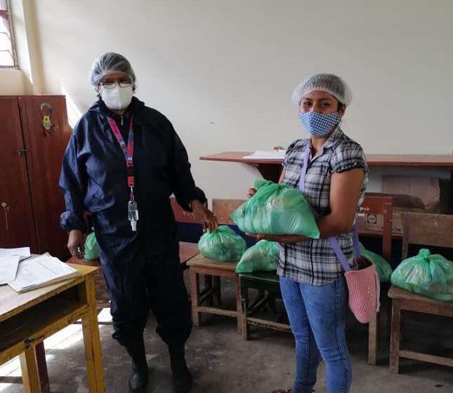 San Martín: Padres de más de185 000 escolares reciben alimentos variados y saludables de Qali Warma