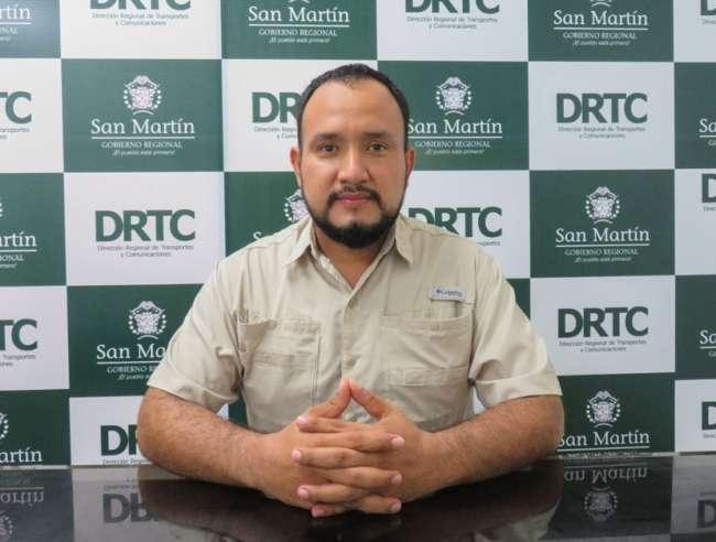 San Martín cuenta con nuevo director regional de Transportes y Comunicaciones