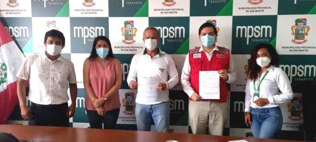 MPSM firma convenio para el fortalecimiento de capacidades para garantizar continuidad de red Amachay