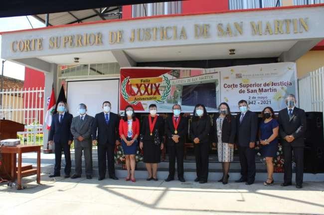 Durante la ceremonia por el 79 aniversario de instalación: