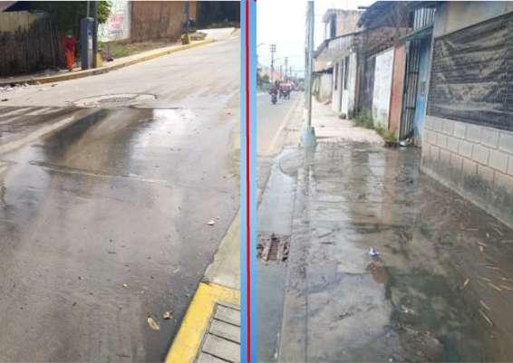 En Moyobamba, aguas servidas, otro riesgo para la salud pública