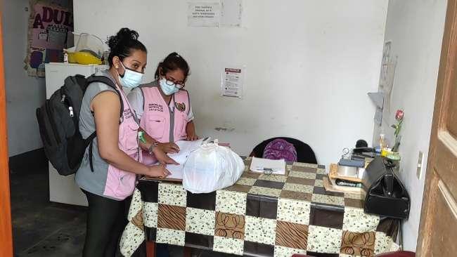 Anuncian vacunación de adultos mayores del distrito de Cacatachi