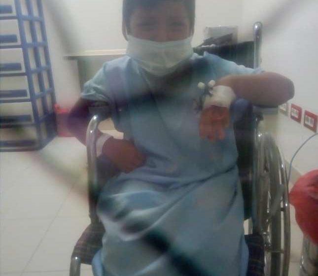 Menor de cinco años está delicado luego de ingerir un tornillo