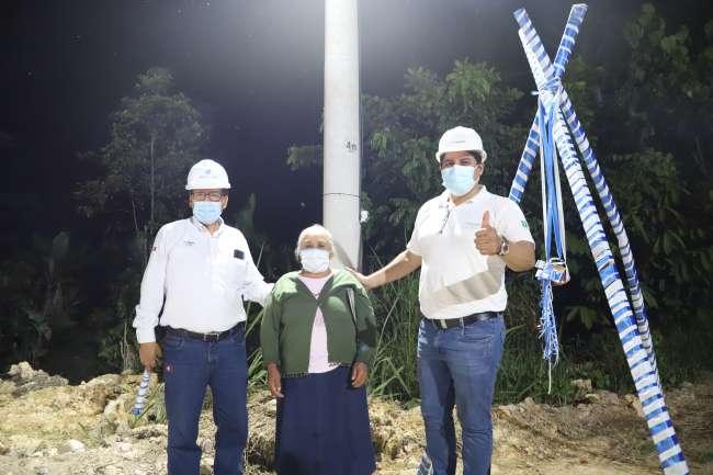 Electro Tocache lleva electricidad a más localidades