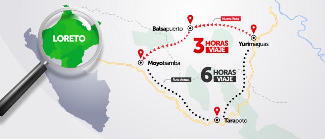 Por unanimidad, el dictamen que declara  de necesidad pública e interés nacional la construcción de la carretera Yurimaguas- Balsapuerto-Moyobamba