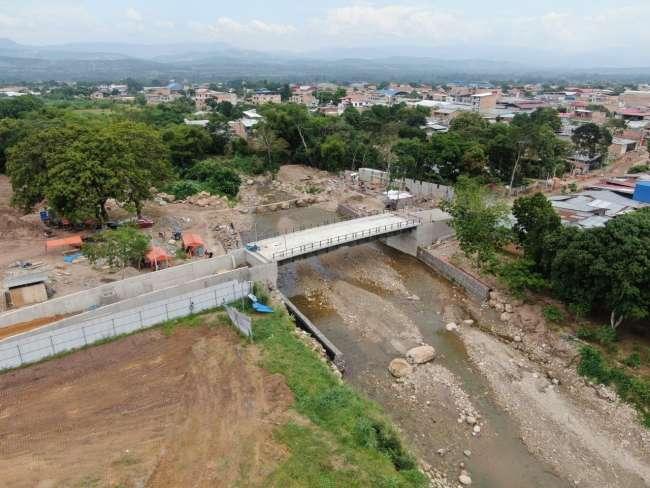 MPSM va culminando la ejecución del puente Cuzco