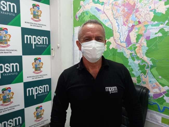 Tedy del Aguila: MPSM aportará 450 mil soles para planta de oxigeno