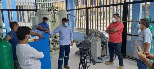 EsSalud Moyobamba inauguró nueva planta de oxígeno medicinal