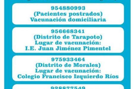 Para estar bien informados: Vacunación