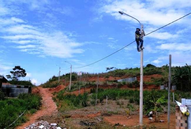 Electro Oriente continúa extendiendo sus servicios en Alto Amazonas