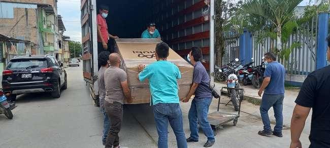 Red Asistencial EsSalud Moyobamba recibió cuatro nuevas camas UCI
