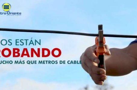 Campaña Alto al robo de Electro Oriente