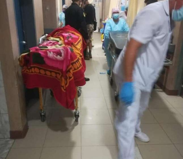 Hospital Minsa Tarapoto atraviesa momento crítico por aumento de casos COVID – 19.