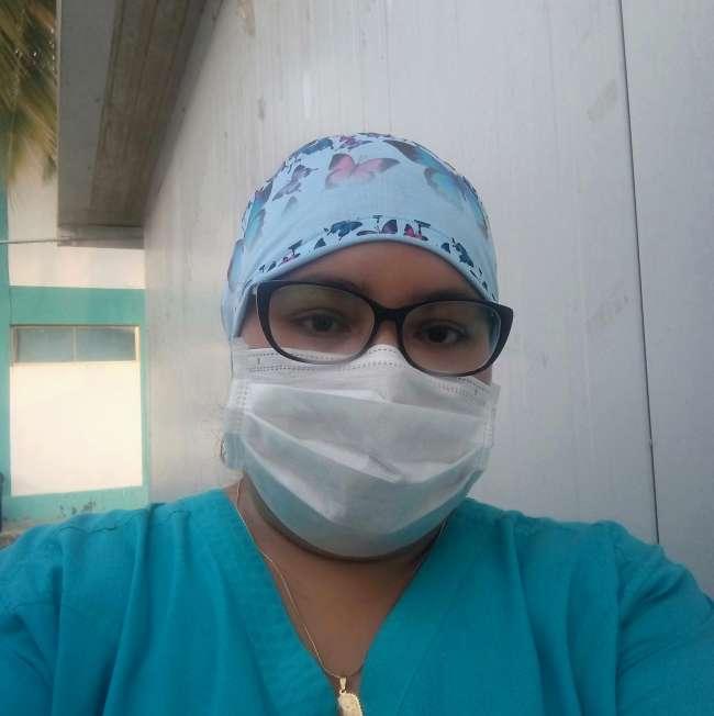 Entrevista con la secretaria general de la Federación Nacional Unificada de Trabajadores del Sector Salud (FENUTSSA) – Lamas. Liliam Mariela Pinedo Reátegui.