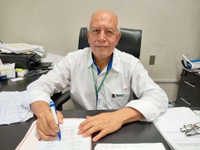 Gerente General del SAT Carlos Chira explica los resultados al 30 de abril del 2021