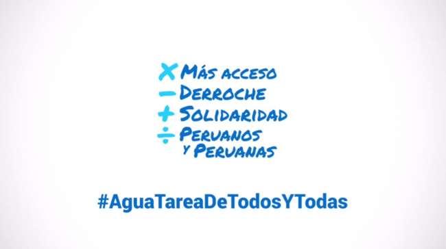 #AguaparaTodosYTodas de la Sunass