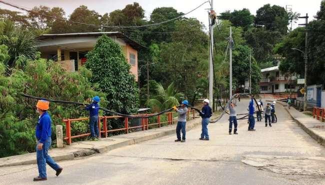 Electro Oriente realizará trabajos de reforzamiento en las Líneas de Media Tensión en Tarapoto