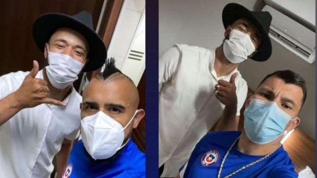 La visita de un barbero podría generar un problema en la selección de Chile