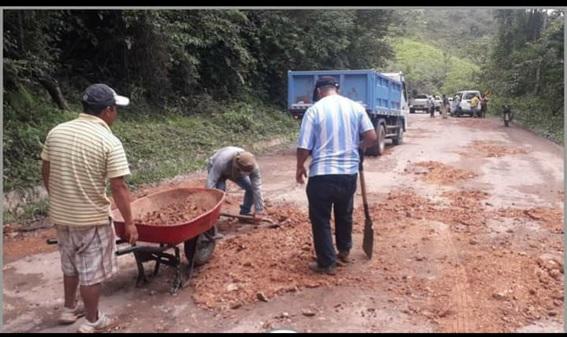 Asfalto con bicapa de Carretera Moyobamba – Jepelacio ya no existe en varios tramos