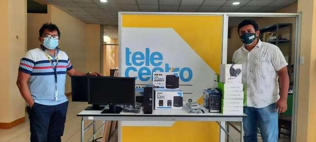 EN LAMAS: ALIANZA CR3CE DE CEDRO RELANZARA EL TELECENTRO PARA SEGUIR FOMENTANDO LA EDUCACION FINANCIERA Y DIGITAL