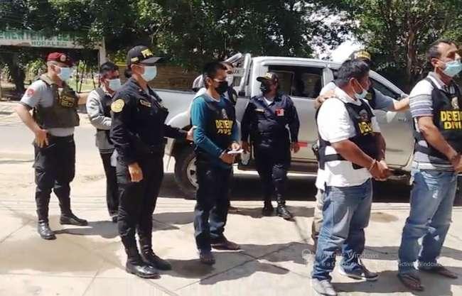 """Policía de la División de Alta Complejidad desarticula banda criminal denominada """"Los Remanentes de San Martín"""""""