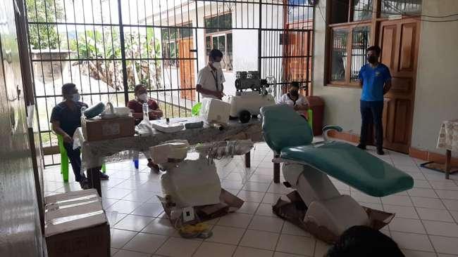 Posta de Salud de El Eslabón cuenta con nuevos equipos de odontología