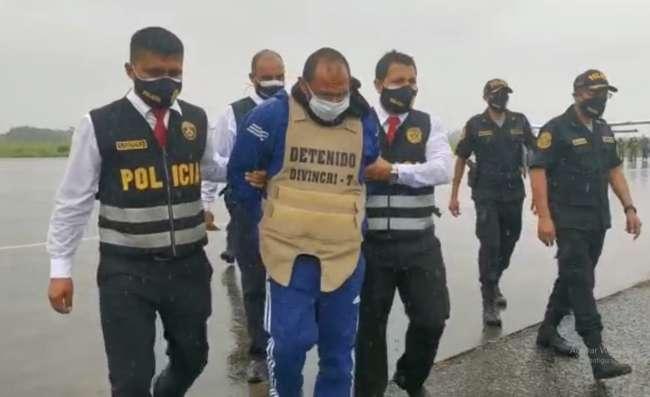 César La Barrera Martínez llegó a Tarapoto y fue recluido con prisión preventiva